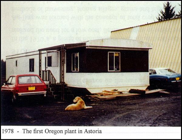 1978 - The Fist Oregon Plant in Astoria
